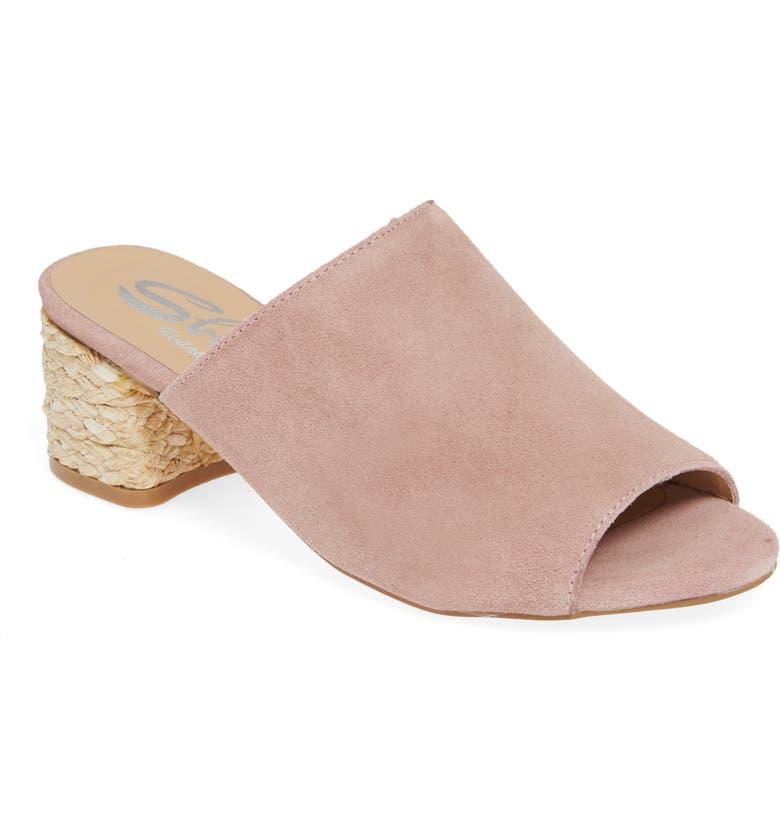 SBICCA Sunderland Slide Sandal, Main, color, BLUSH