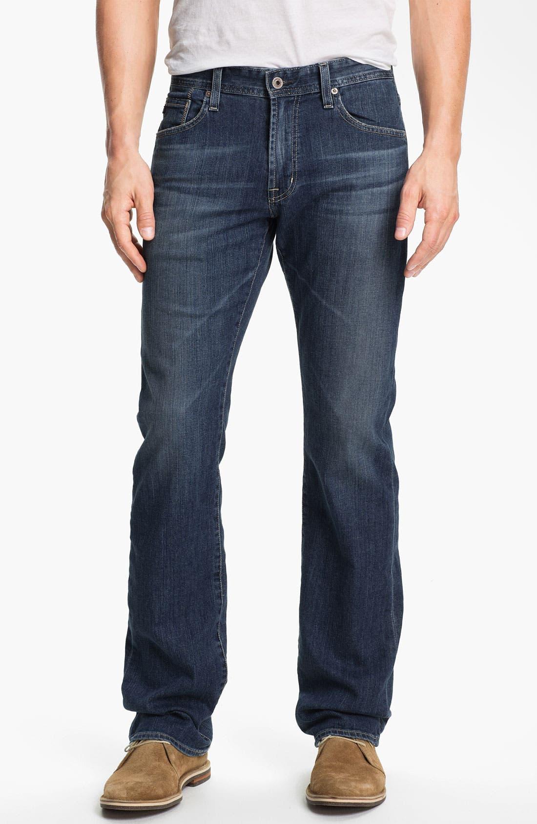 ,                             'Protégé' Straight Leg Jeans,                             Main thumbnail 32, color,                             428