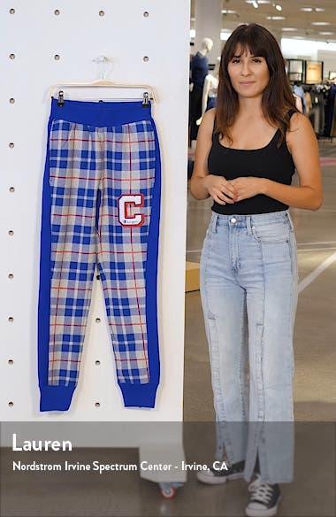 Plaid Print Sweatpants, sales video thumbnail