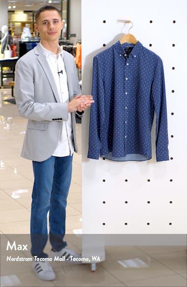 Trim Fit Non-Iron Button-Down Sport Shirt, sales video thumbnail