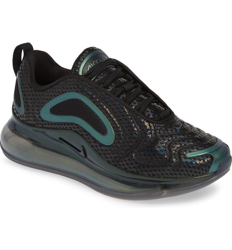 NIKE Air Max 720 Sneaker, Main, color, BLACK/ FUCHSIA-ANTHRACITE