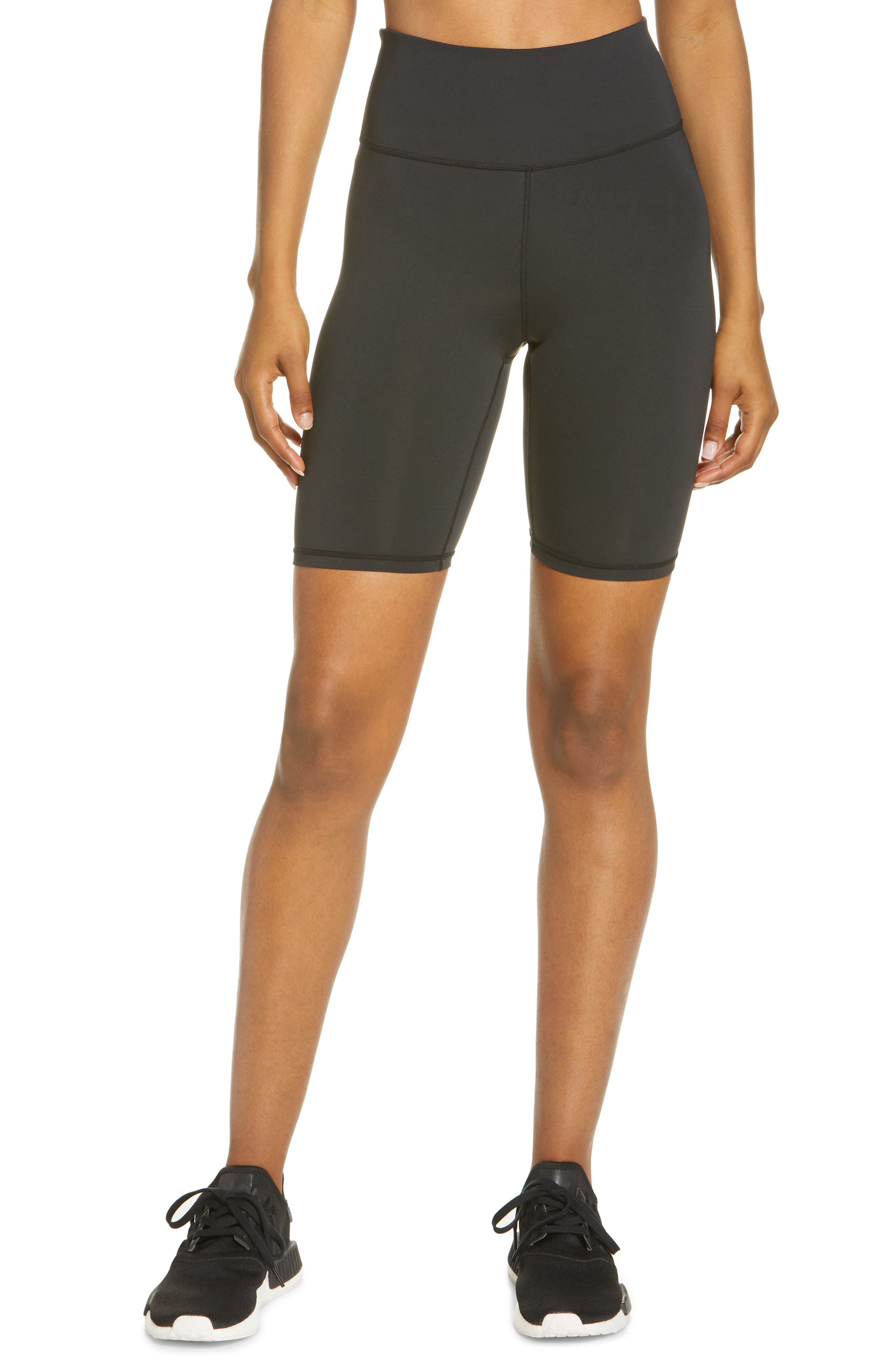 Active High Waist Bike Shorts