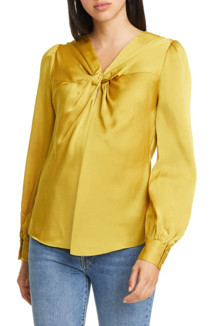 Image of kate spade new york Twist Back Top