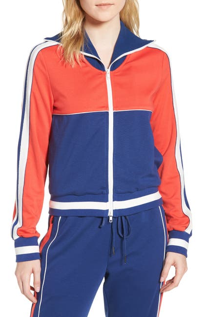 Image of PAM AND GELA Colorblock Track Jacket