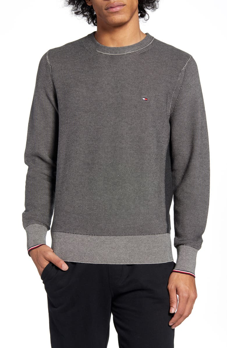 TOMMY HILFIGER Regular Fit Sweater, Main, color, GREY