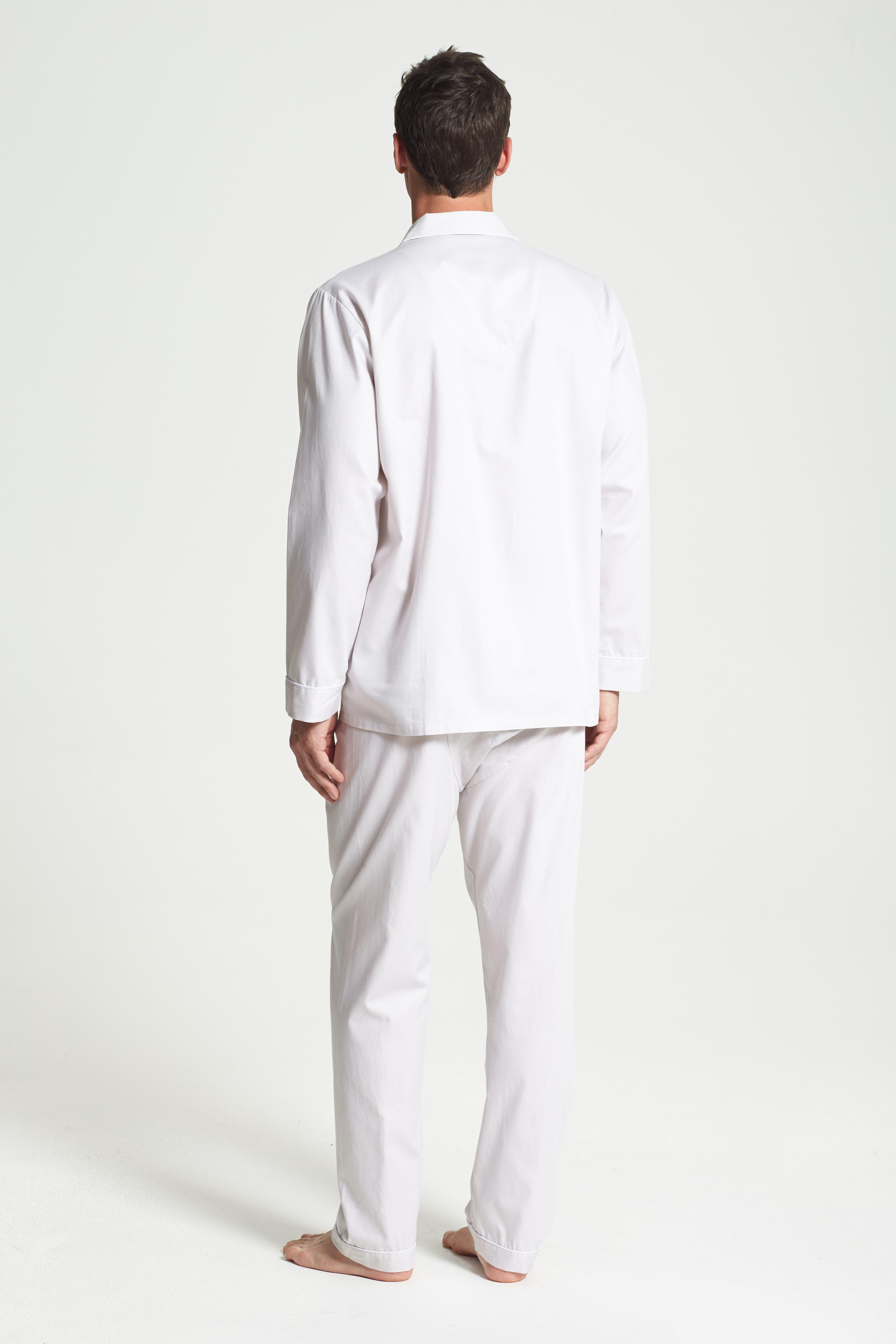 ,                             Herringbone Cotton Pajamas,                             Alternate thumbnail 6, color,                             209