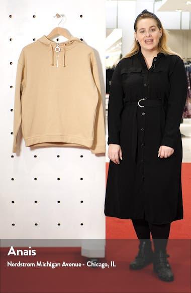 Quarter-Zip Hooded Sweatshirt, sales video thumbnail