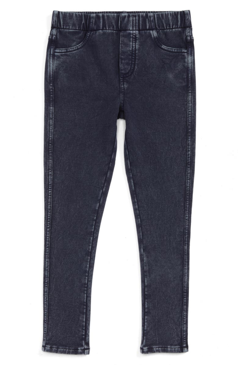 TUCKER + TATE Sadie Jeggings, Main, color, DARK INDIGO WASH