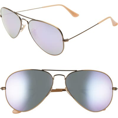 Ray-Ban Original Aviator 5m Sunglasses - Metallic Gold