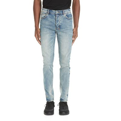 Ksubi Chitch Pure Dynamite Skinny Fit Jeans, Blue
