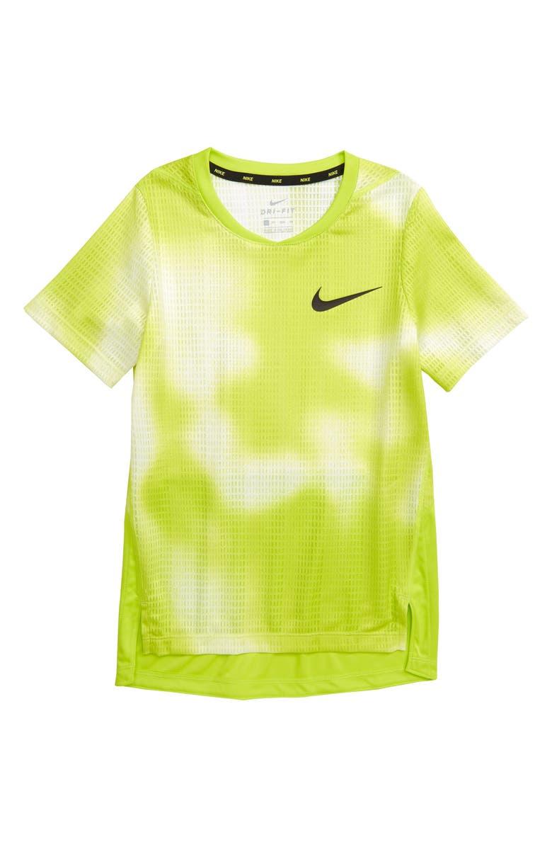 NIKE Instacool Dri-FIT Training Shirt, Main, color, 100