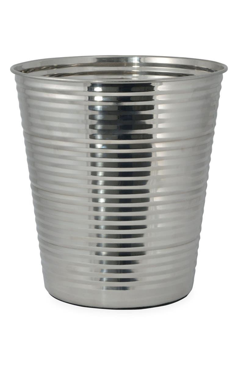 DKNY Corrugated Wastebasket, Main, color, 040