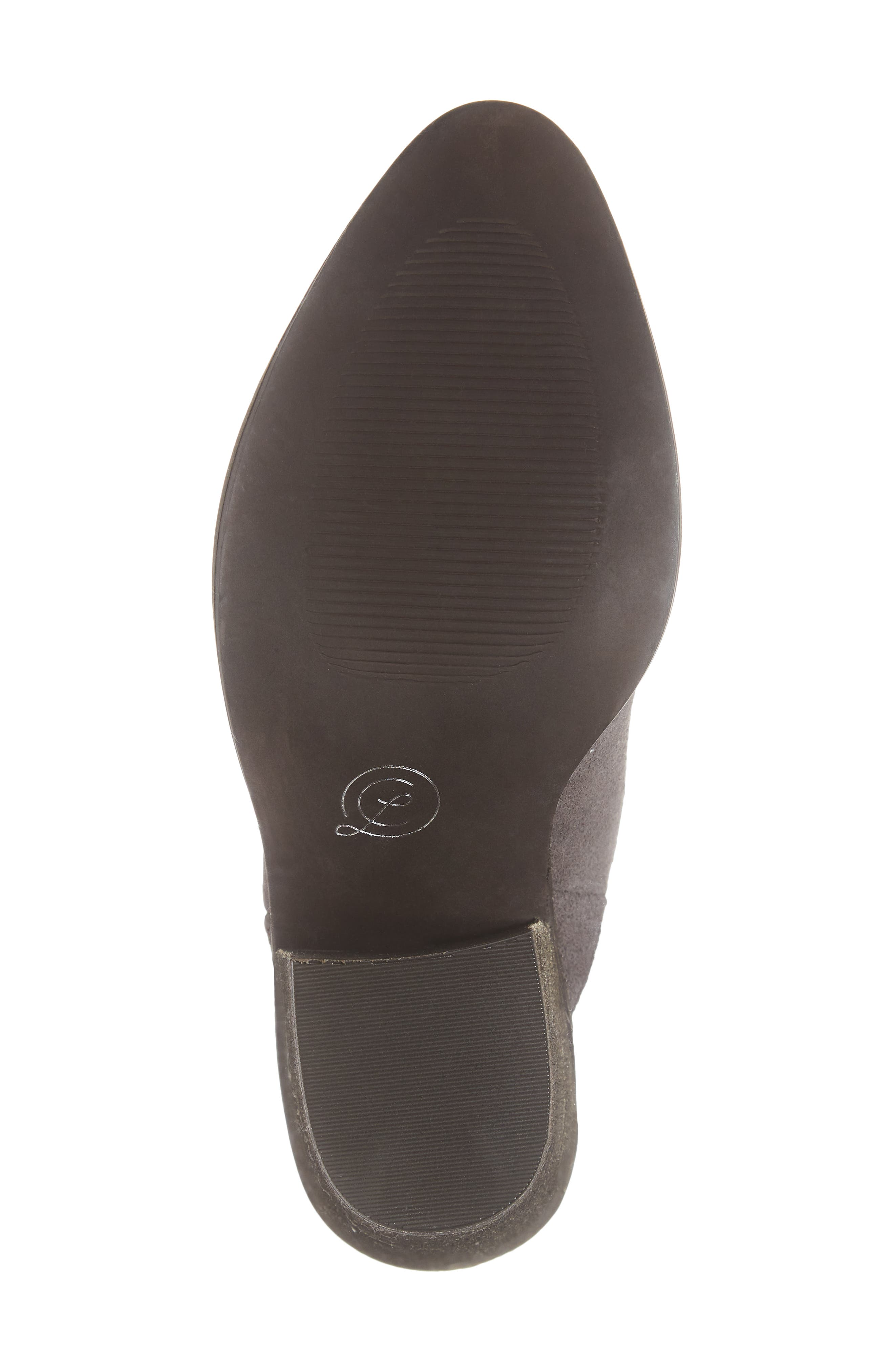 ,                             Springfield Mule Bootie,                             Alternate thumbnail 6, color,                             CHARCOAL SUEDE