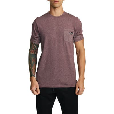 Rvca Sport Vent Pocket Performance T-Shirt, Purple