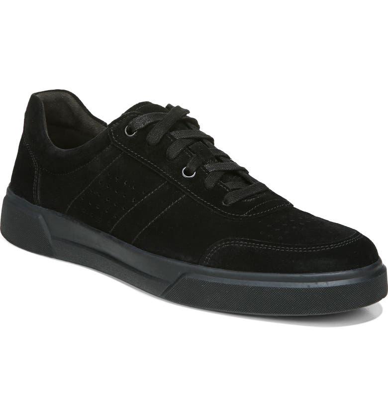 VINCE Barnett Sneaker, Main, color, BLACK/ BLACK