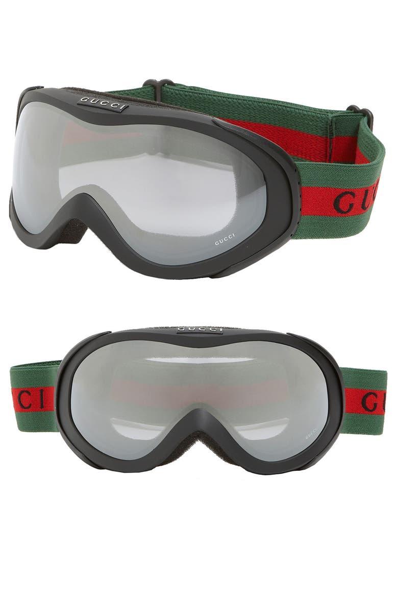 GUCCI Ski Goggles, Main, color, 001