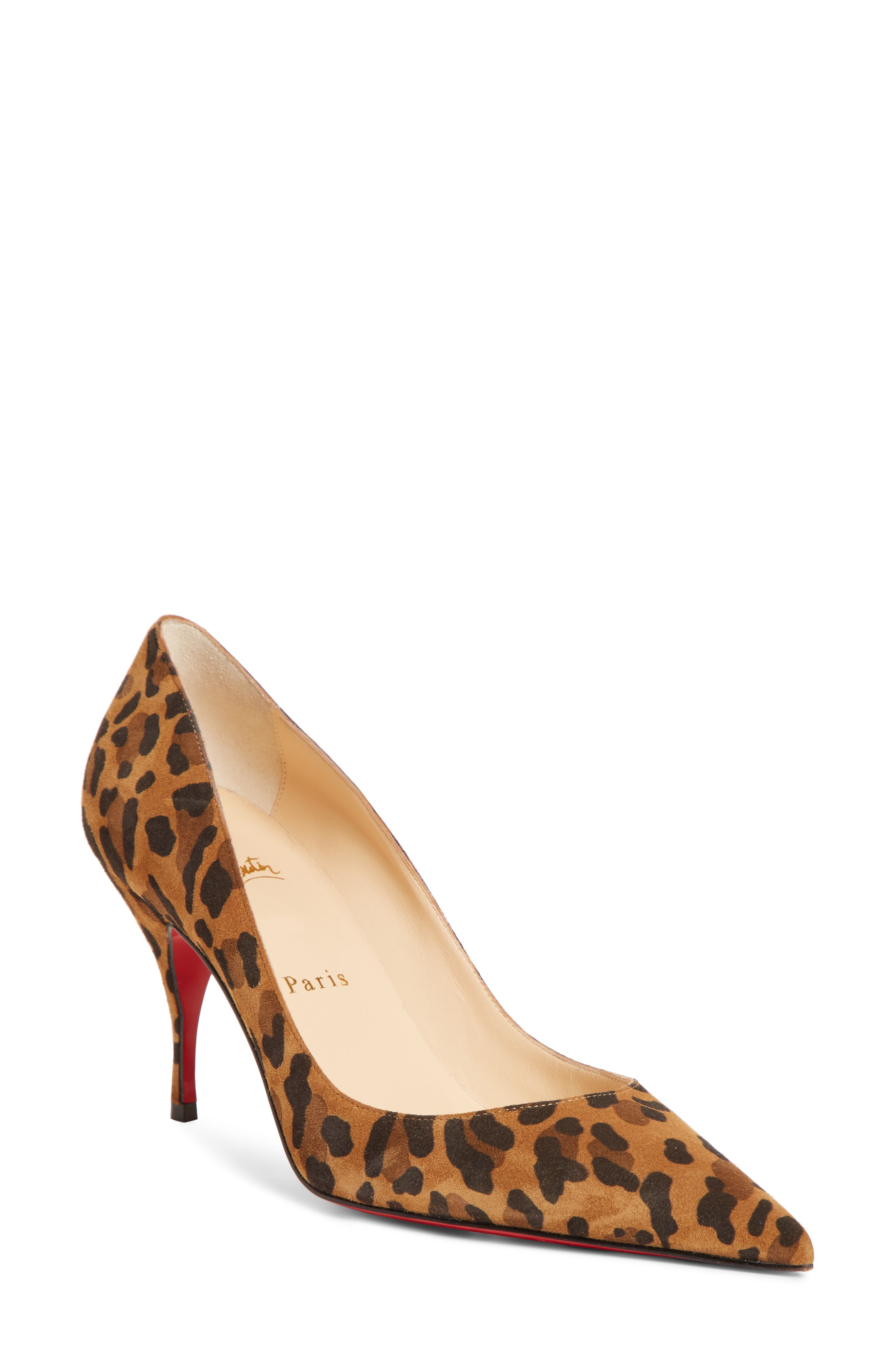 Christian Louboutin Clare Pointy Toe Pump - Brown
