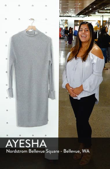 Ribbed Sweater Dress, sales video thumbnail