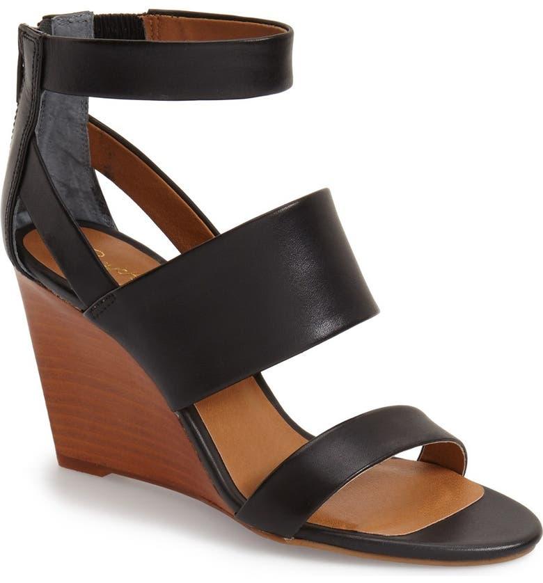 SEYCHELLES 'Suave' Wedge Sandal, Main, color, 001