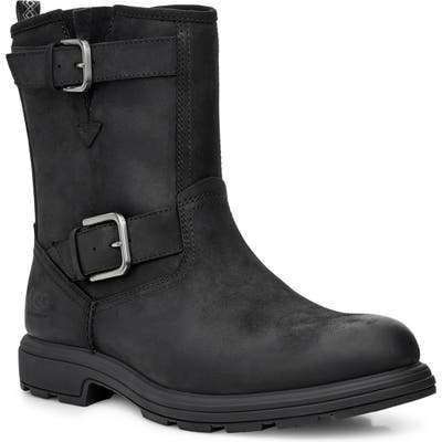 UGG Biltmore Waterproof Moto Boot, Black