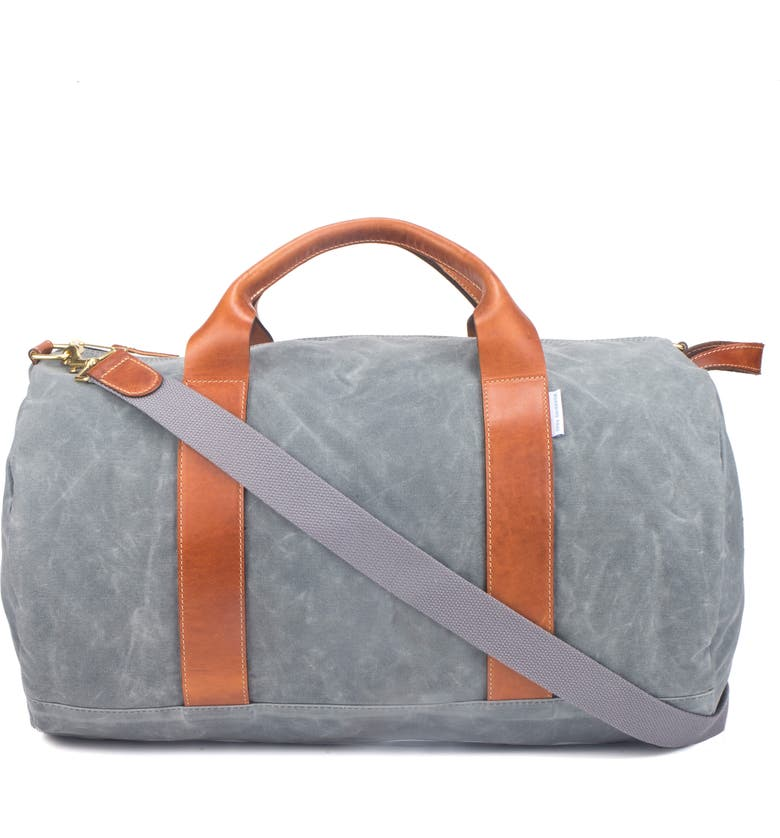 BOARDING PASS Voyager Duffle Bag, Main, color, CHARCOAL