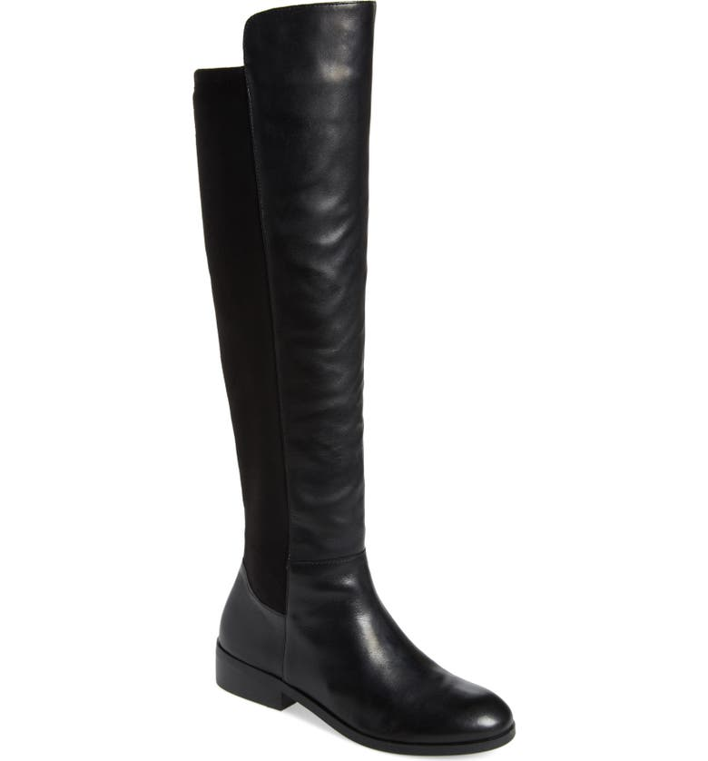 SOLE SOCIETY Calypso Over the Knee Boot, Main, color, 001