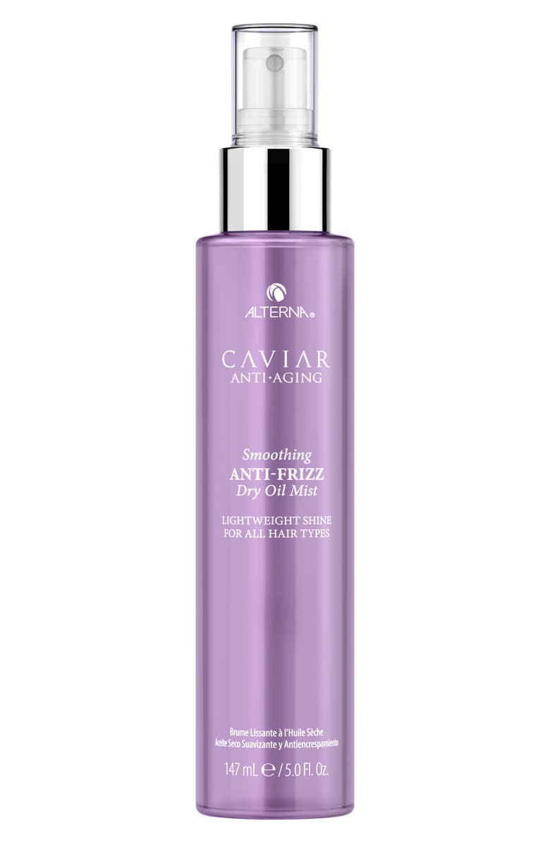 ALTERNA<SUP>®</SUP> Caviar Anti-Aging Smoothing Anti-Frizz Dry Oil Mist, Main, color, NO COLOR