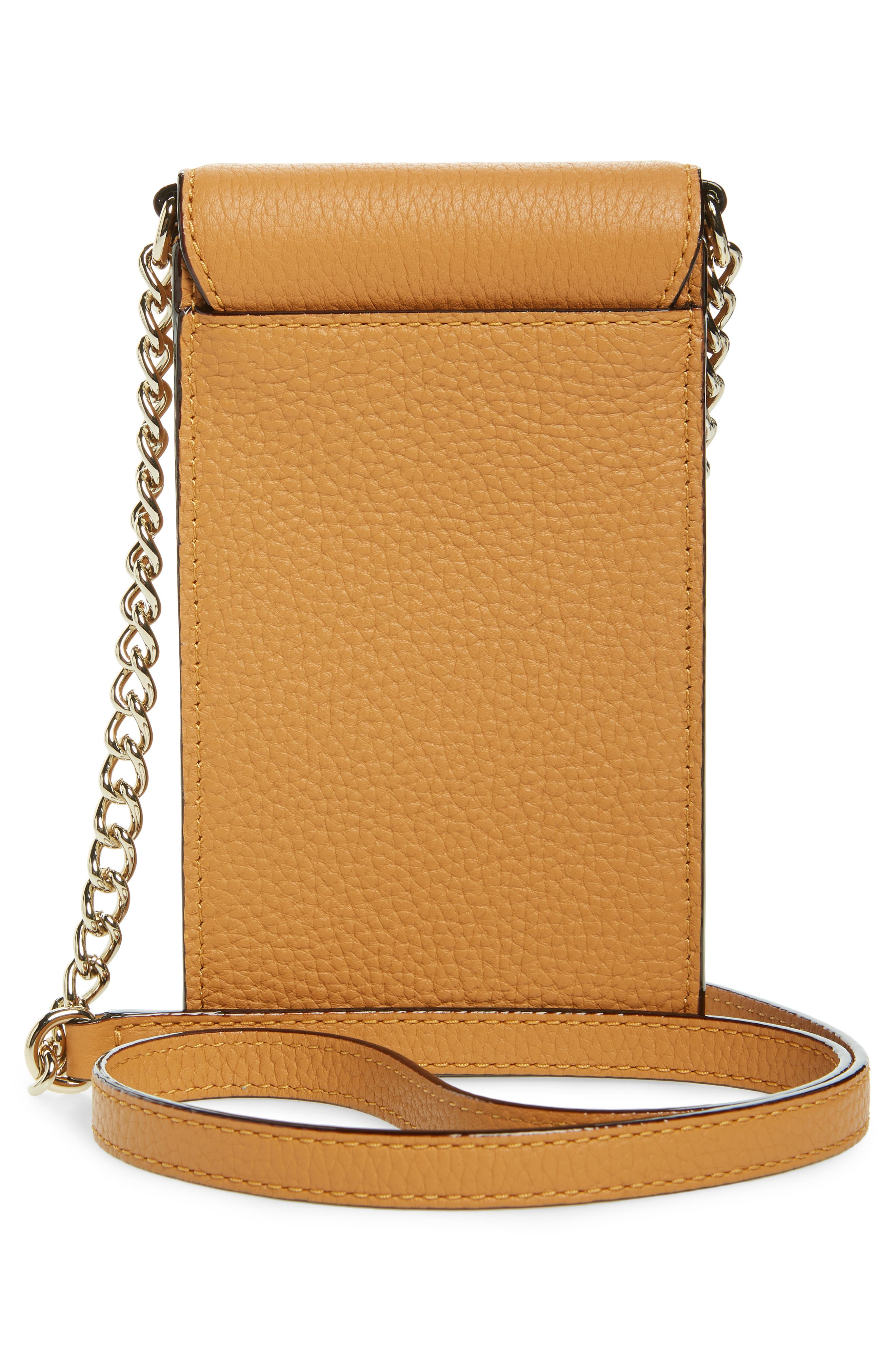 ,                             north/south leather smartphone crossbody bag,                             Alternate thumbnail 52, color,                             701