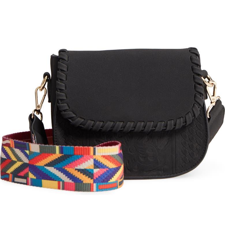480fe5129 Yoki Bags Statement Strap Faux Leather Crossbody Bag | Nordstrom