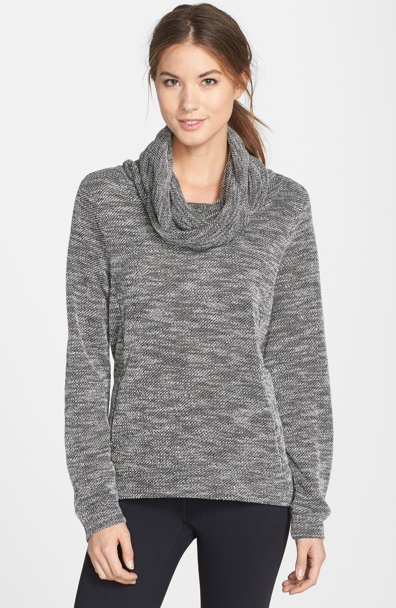 BENCH. Bench 'Coastal Cluster' Cowl Neck Pullover, Main, color, 001