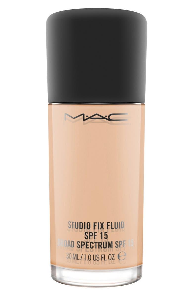 MAC COSMETICS MAC M·A·C Studio Fix Fluid Foundation SPF 15, Main, color, NW20 WARM NEUTRAL ROSY