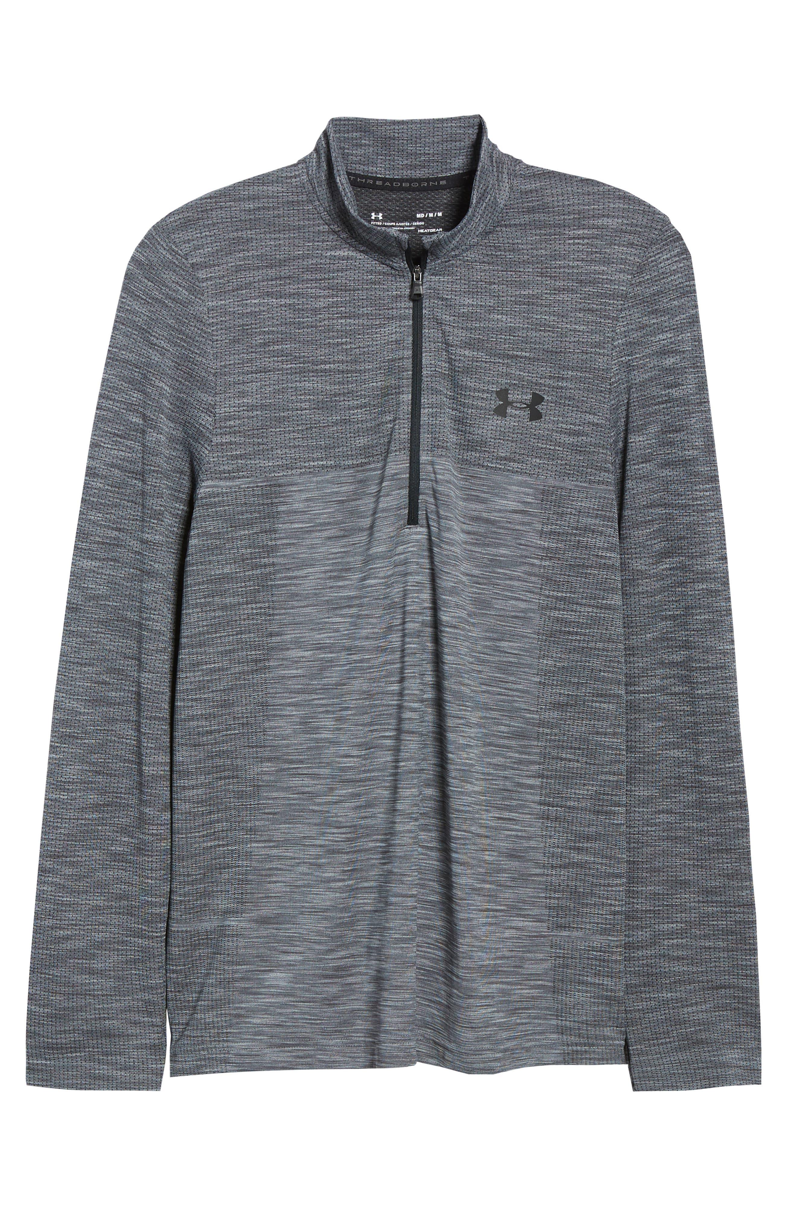,                             Siphon Regular Fit Half-Zip Pullover,                             Alternate thumbnail 6, color,                             STEEL