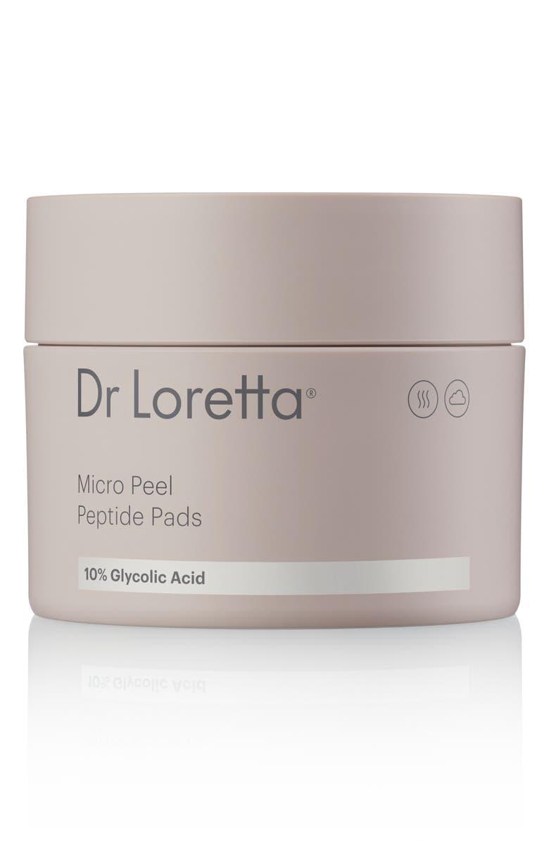 DR. LORETTA Micro Peel Peptide Pads, Main, color, NO COLOR