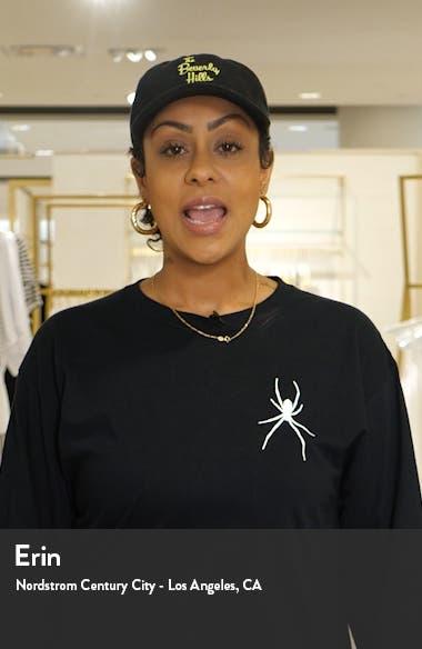 Alvera Crop Linen Jumpsuit, sales video thumbnail