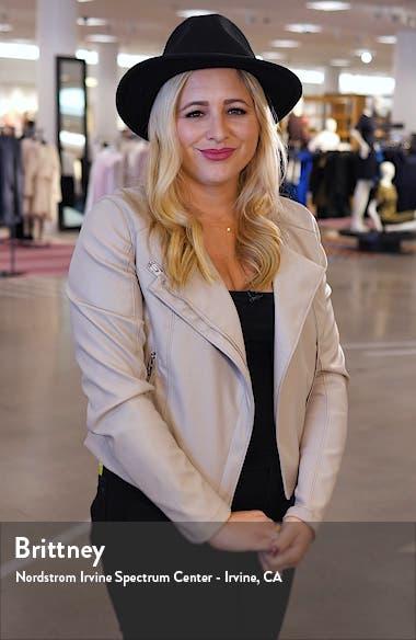Lace Detail Faux Suede Vest, sales video thumbnail