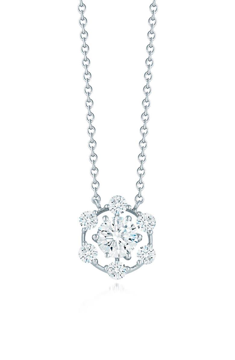 KWIAT Starry Night Diamond Night Pendant Necklace, Main, color, 711