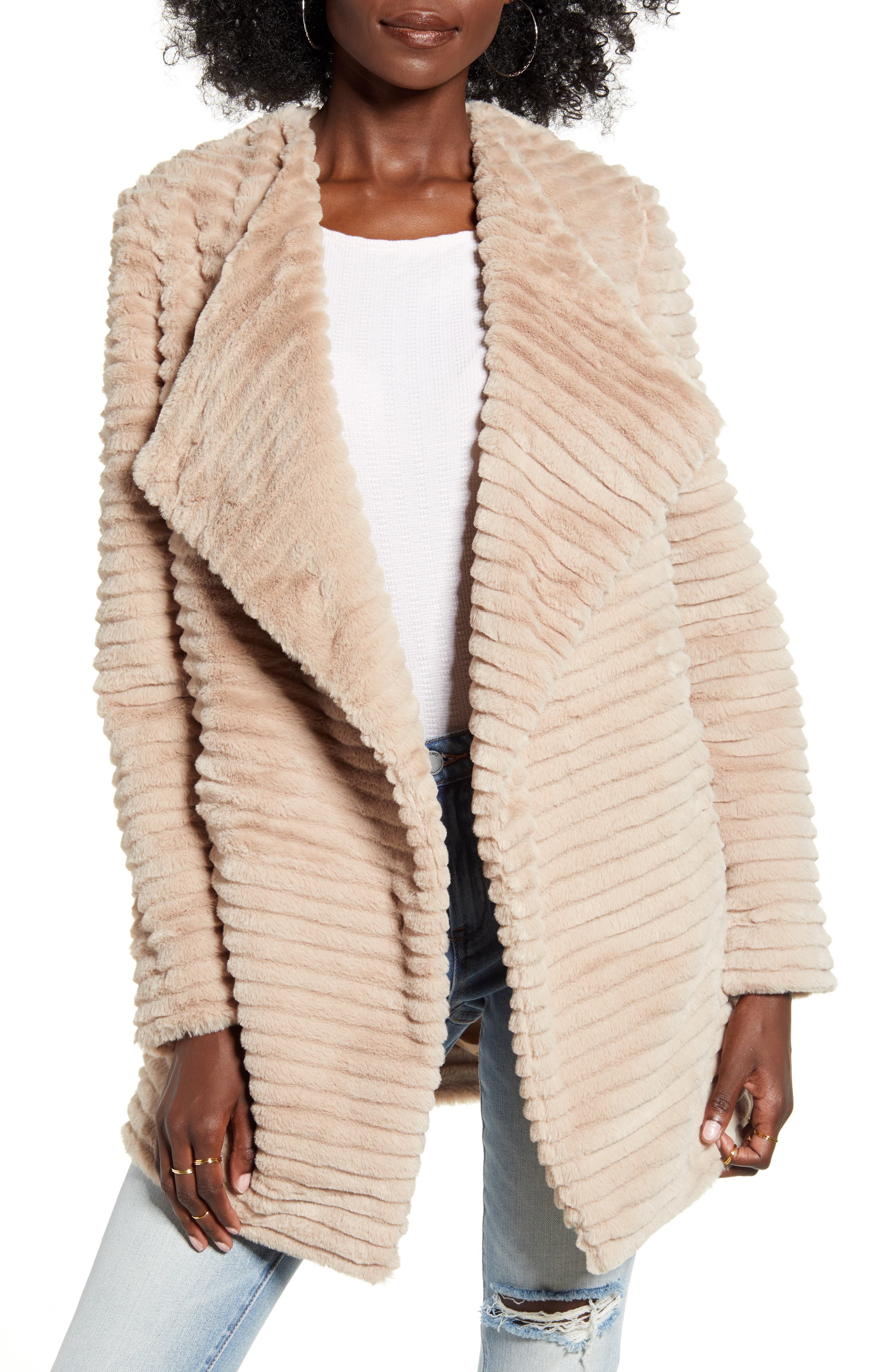 Image of BB Dakota Fab Moment Faux Fur Jacket