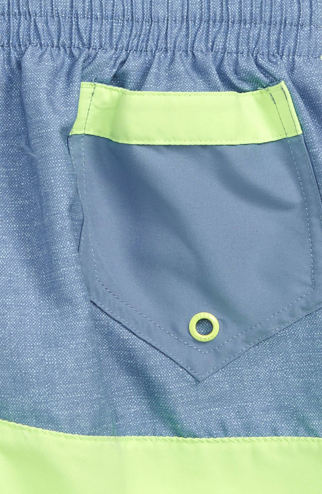,                             Split Volley Shorts,                             Alternate thumbnail 3, color,                             VOLT GLOW
