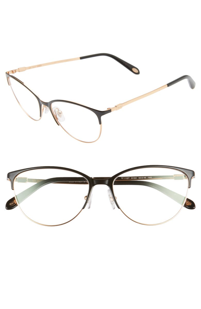 TIFFANY & CO. 54mm Optical Glasses, Main, color, 001