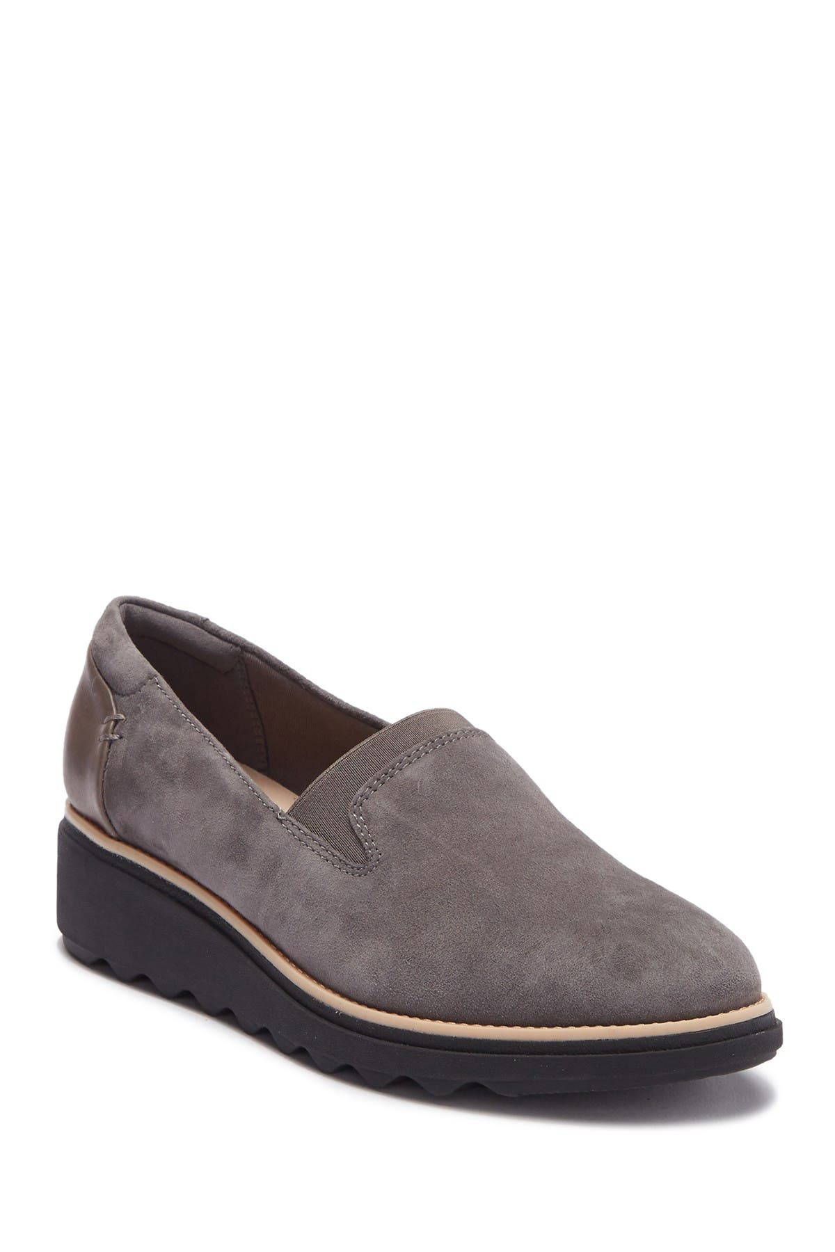 Clarks | Sharon Dolly Suede Wedge