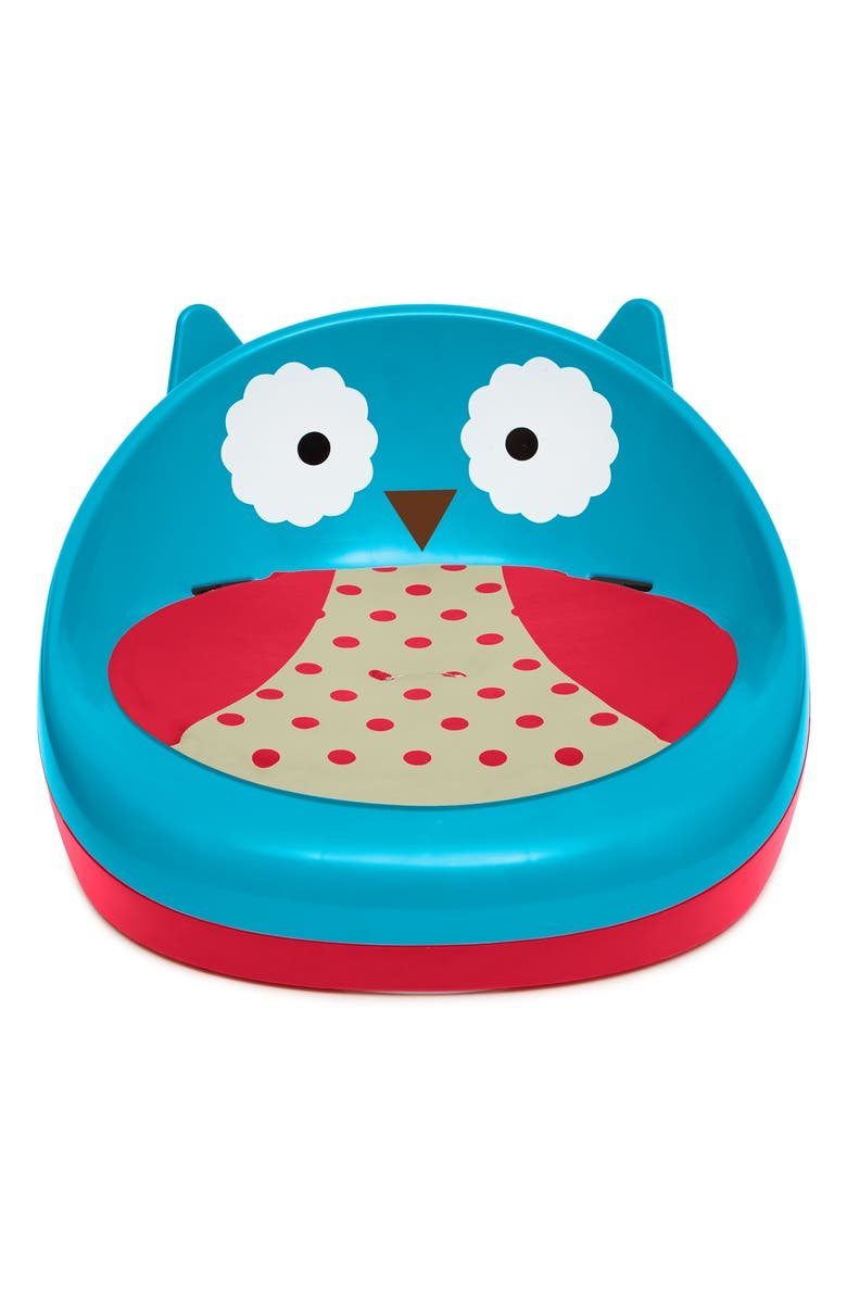 SKIP HOP Zoo Two-Stage Booster Seat, Main, color, 400