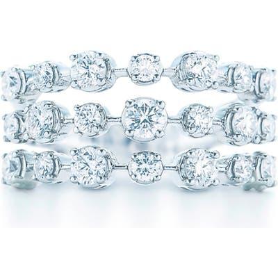 Kwiat Starry Night 3-Row Diamond Ring
