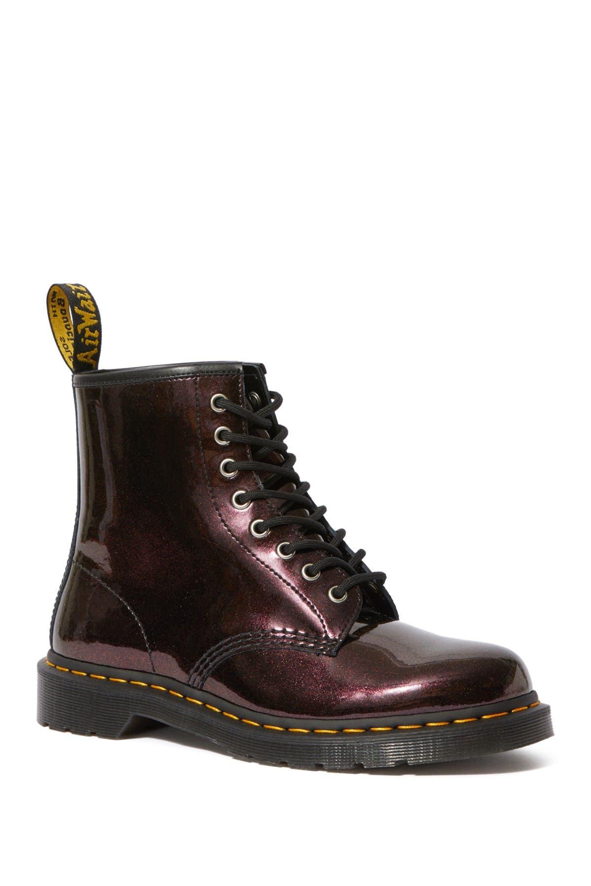 Dr. Martens   1460 Purple Sparkle Boot