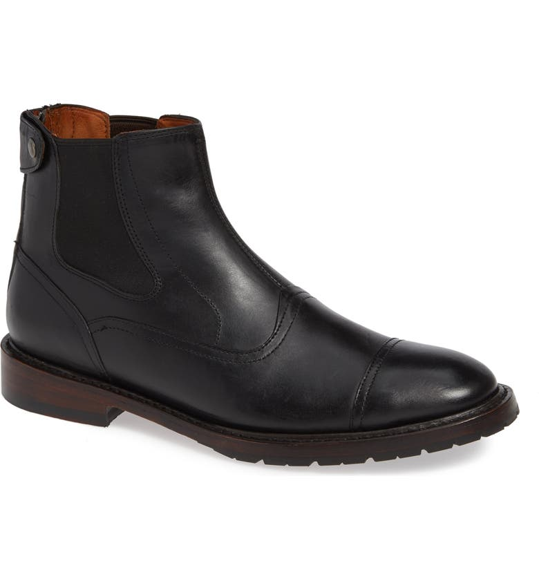TWO24 by Ariat Merritt Chelsea Boot, Main, color, BLACK LEATHER