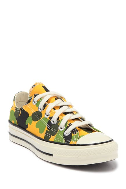 Image of Converse Chuck 70 Ox University Camo Sneaker