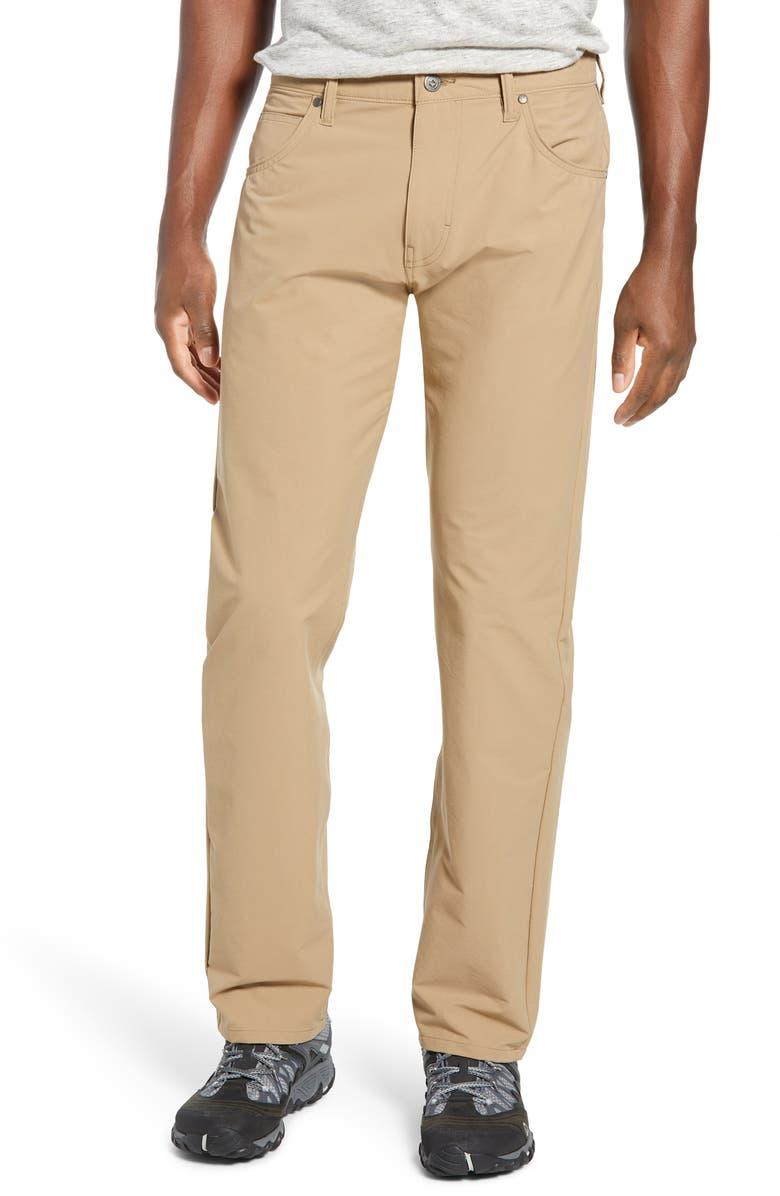 PATAGONIA Stonycraft Straight Leg Jeans, Main, color, MOJAVE KHAKI