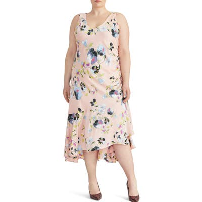 Plus Size Rachel Roy Collection Orchid Midi Dress, Pink