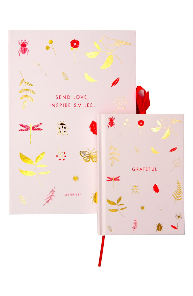 KIKKI.K Life Is Wonderful Set, Main, color, PINK