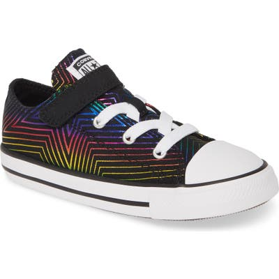 Converse Chuck Taylor All Star 1V Rainbow Star Low Top Sneaker