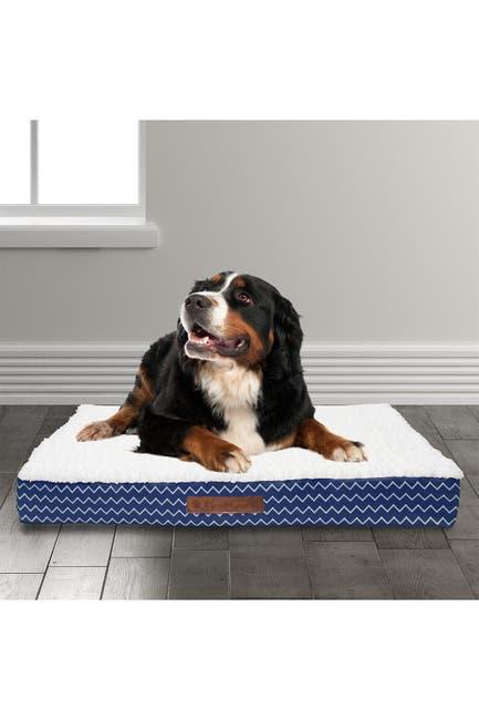 Image of Duck River Textile Cadbury Chevron Large Orthopedic Memory Foam Pet Bed